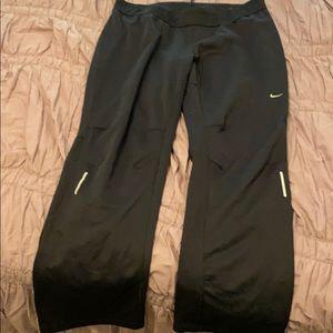 Nike wide leg dri fit leggings